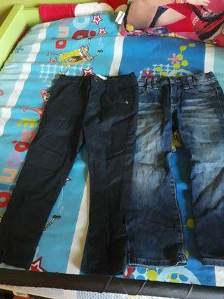 Pantalon de Vestir y Tejano