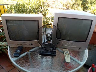 2 televisores de Philips y Sanyo