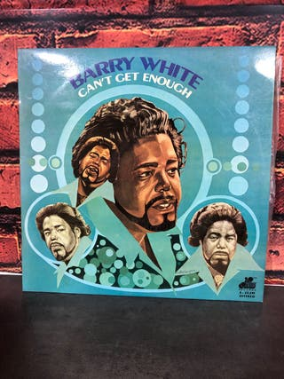 Vinilo Barry White -Can't get enough