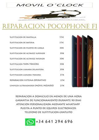 REPARACION POCOPHONE F1
