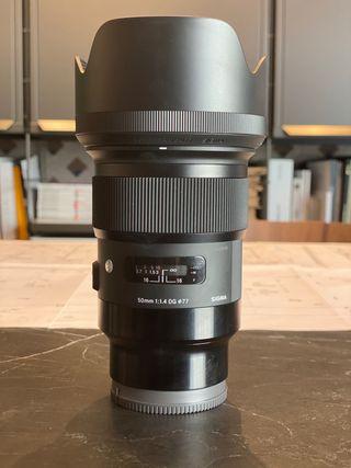 Objetivo Sigma 50mm F1.4 DG