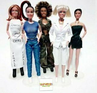 Spice girls muñecas pack de 5 Barbies.