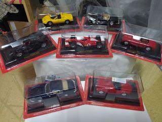 Lote Colección coches Ferrari Escala 1:43