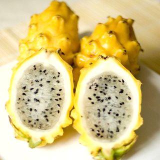 Semillas de fruta dragón o pitahaya