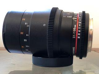 Samyang 100mm Macro T3.1 montura Canon