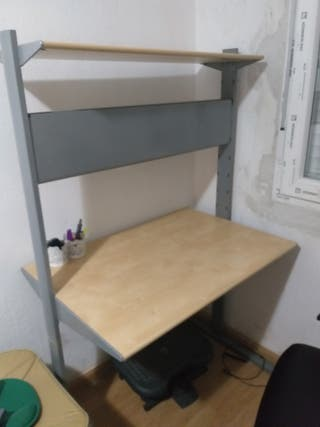Escritorio ikea regulable