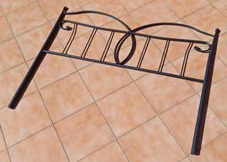 Cabecero de cama 135 en hierro forjado