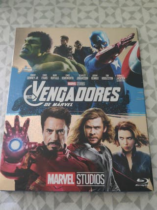 vengadores de Marvel bluray disc