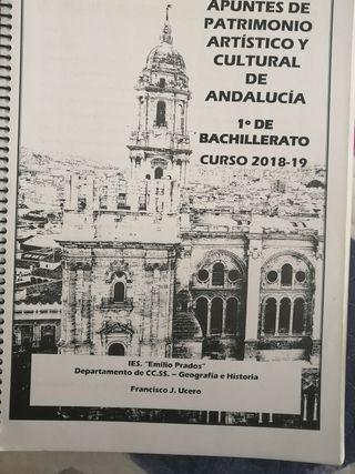Libro Patrimonio Artístico y Cultural de Andalucía