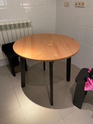 Mesa redonda cocina