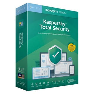 Total Security KASPERSKY - 3 PC 1 año