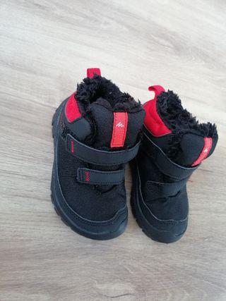 botas nieve niño quechua