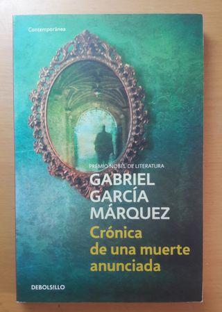 Crónica de una muerte anunciada - Gabriel García M