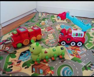 juguetes con ruedas