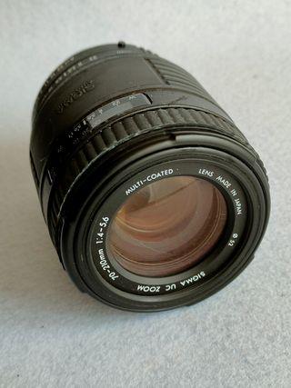 Sigma 70-210 Uc f4 para Pentax AF