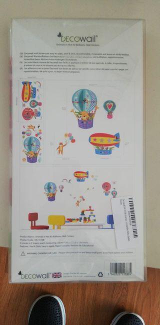 Pegatinas/Stickers para pared animales Decowall