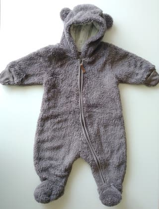 Buzo osito bebé ( Talla 1-2 meses)