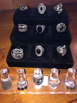 Lote de 14 anillos Swarovski (armadura urbana)