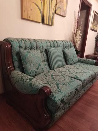 Magníficos sofa 3 plazas + 2 sofas individuales