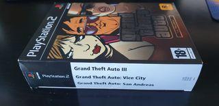 Trilogía Grand Theft Auto GTA