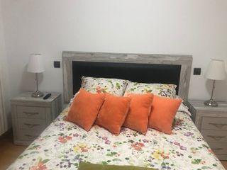 Cabecero y mesillas para cama de 135 cm