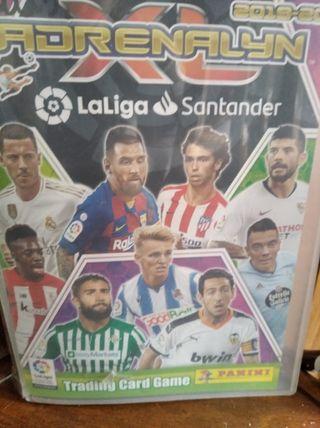álbum+100 cromos Adrenalyn LaLiga Santander