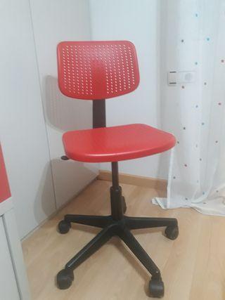 silla escritorio niño.