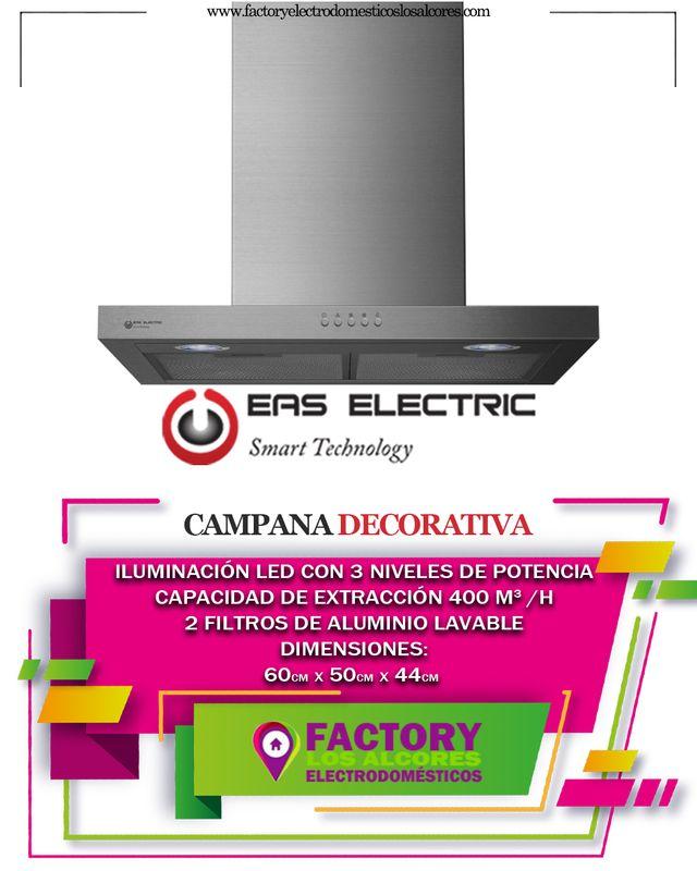 CAMPANA DECORATIVA EAS ELECTRIC 60CM