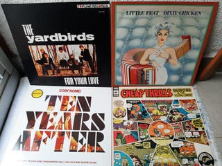 Discos de Rock/ Blues.