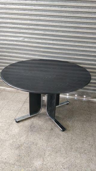 Mesa redonda negra Ref. 2009281