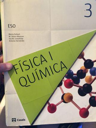 Libro Fisica y Quimica 3 eso