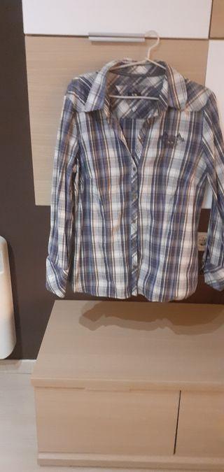 camisa de hombre talla 42 poco uso .