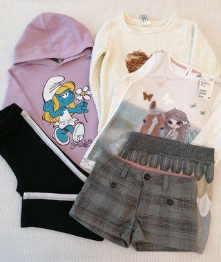 Lote ropa niña 4-6 años