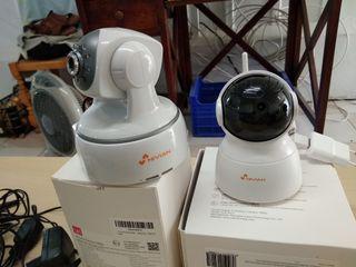 cámaras de seguridad I.P.