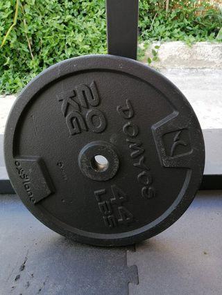 Discos de hierro 20kg