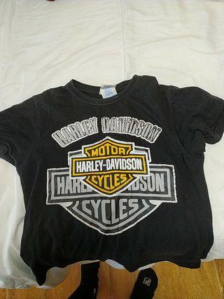 camiseta de harley davidson de 5 a 6 años
