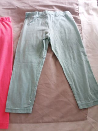 pink and blue short pants for kids