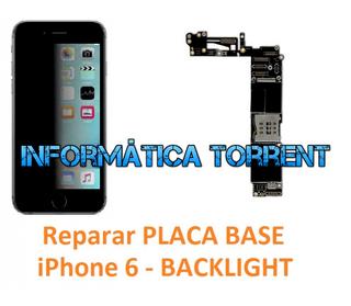 Reparar Placa Base IPhone 6 BACKLIGHT