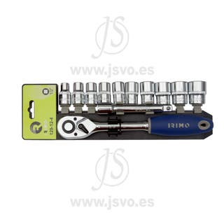 Irimo 129-12-4 Juego llaves de vaso - 12 piezas