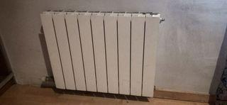 5 radiadores diferentes tamaños