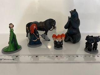 Mini figuras Mérida o Brave Disney