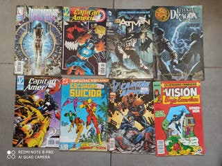 8 comics grapa Marvel DC