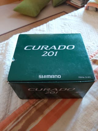Carrete de casting Shimano Curado 201
