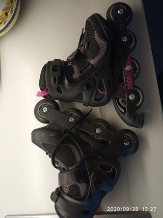 patines en línea oxelo niña/mujer n°37