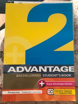 Advantage bachillerato student's book y workbook