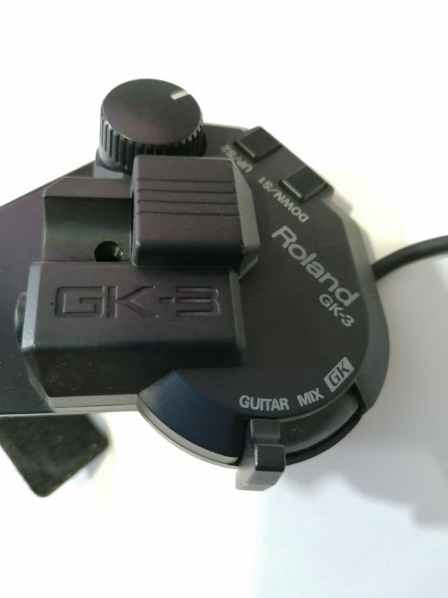 Pastilla Roland GK3 de tamaño reducido