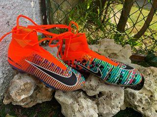 Bota fútbol Nike mercurial talla 38