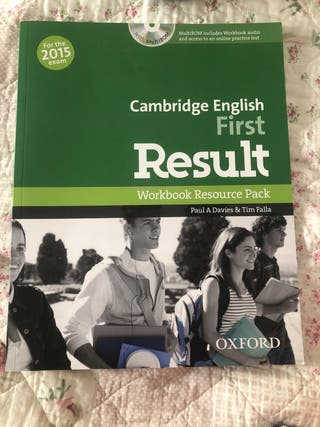 Cambridge First Result workbook