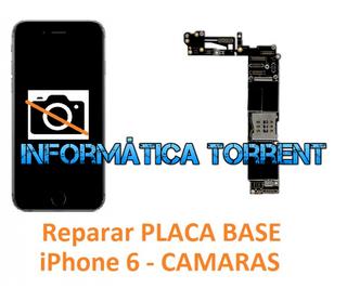 Reparar Placa Base IPhone 6 CÁMARAS