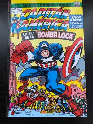 OmniGold Capitan America La era de la Bomba loca